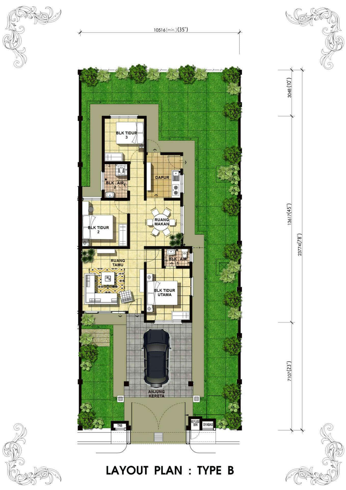 Lot 4208 Taman Bentara, Teluk Panglima Garang 54